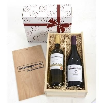 Picture of WINE TASTINGS 2020 TWO-BOTTLE WINE CRATE
