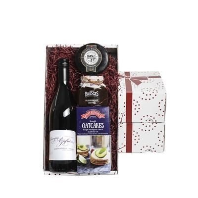 Picture of WINE, CHEESE & CHUTNEY GIFT BOX
