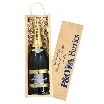 Picture of CHAMPAGNE IN WOODEN CRATE