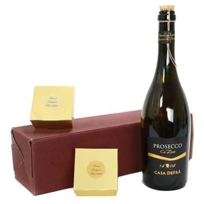 Picture of PROSECCO, CHOCOLATES & TRUFFLES GIFT BOX