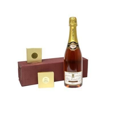Picture of CHAMPAGNE, CHOCOLATES & TRUFFLES GIFT BOX