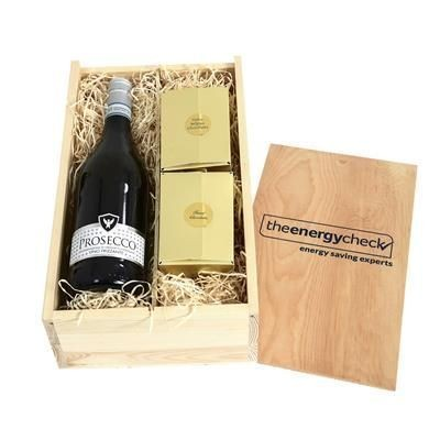 Picture of PROSECCO, CHOCOLATES & TRUFFLES CRATE