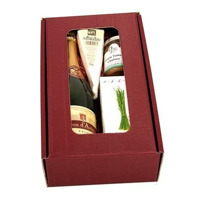 Picture of SOFT FRENCH CHEESE & WINE GIFT BOX