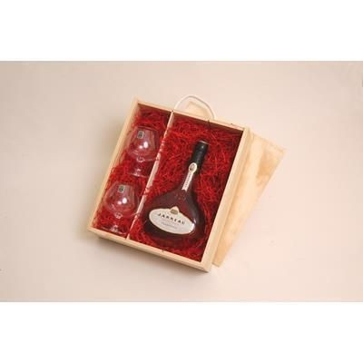 Picture of BRANDY GIFT BOX WITH CRYSTAL GLASSES
