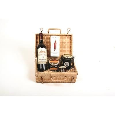 Picture of THE BODIUM CLARET & CHEDDAR HAMPER