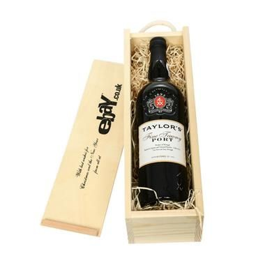 Picture of TAYLORS FINE TAWNY PORT IN WOODEN CRATE
