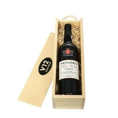 Picture of TAYLORS FINE RUBY PORT IN WOODEN CRATE