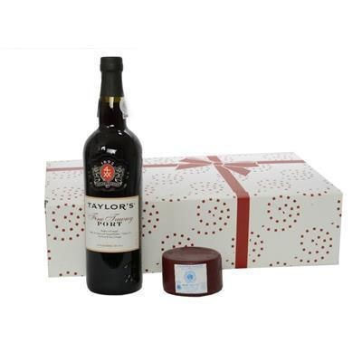 Picture of PORT & TRUCKLE OF STILTON GIFT BOX