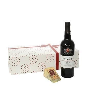 Picture of PORT & WEDGE OF STILTON GIFT BOX
