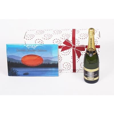Picture of CHAMPAGNE & SMOKED SALMON GIFT BOX
