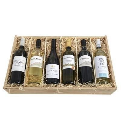 Picture of SIX-BOTTLE WINE CRATE