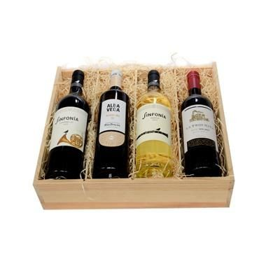 Picture of FOUR-BOTTLE WINE CRATE
