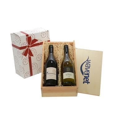 Picture of WINE TASTINGS 2014 TWO-BOTTLE WINE GIFT BOX