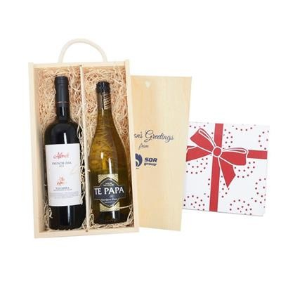 Picture of WINE TASTINGS 2018 TWO-BOTTLE WINE GIFT BOX