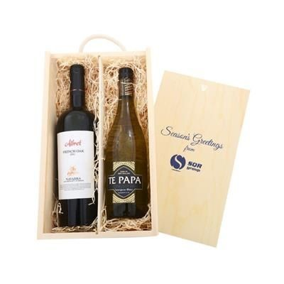 Picture of WINE TASTINGS 2018 TWO-BOTTLE WINE CRATE