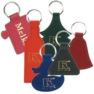 Picture of BESPOKE KEYRING in Recycled Bonded Leather