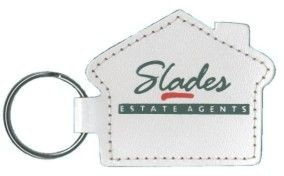 Picture of HOUSE KEYRING in Recycled Bonded Leather