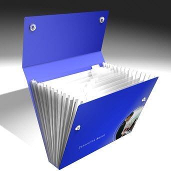Picture of BESPOKE CONCERTINA WALLET