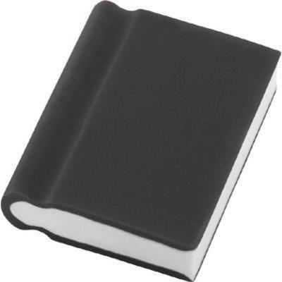 Picture of BOOK ERASER in Black