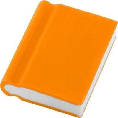 Picture of BOOK ERASER in Orange