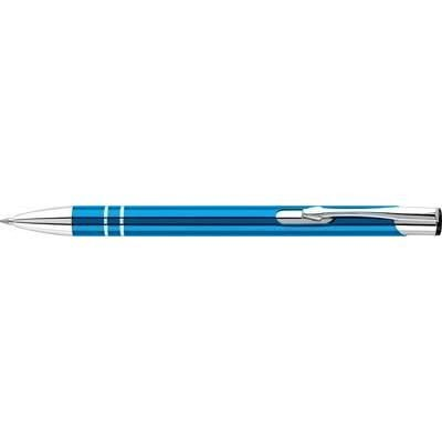 Picture of ELECTRA ALUMINIUM METAL BALL PEN in Blue