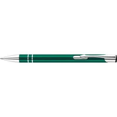 Picture of ELECTRA ALUMINIUM METAL BALL PEN in Green