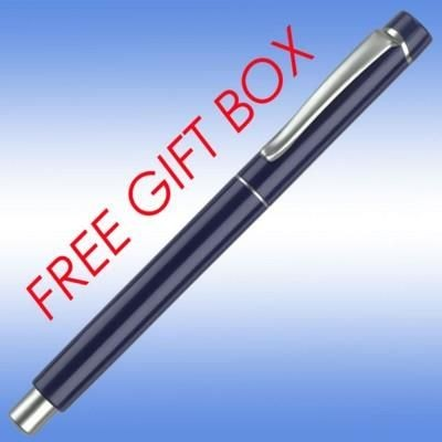 Picture of EVOLUTION BALL PEN in Blue with Silver Trim