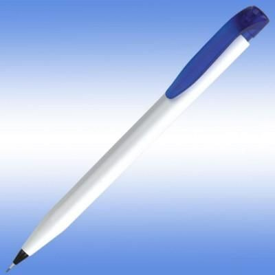 Picture of HARRIER EXTRA PENCIL in White with Blue Trim
