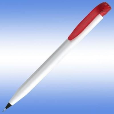 Picture of HARRIER EXTRA PENCIL in White with Red Trim