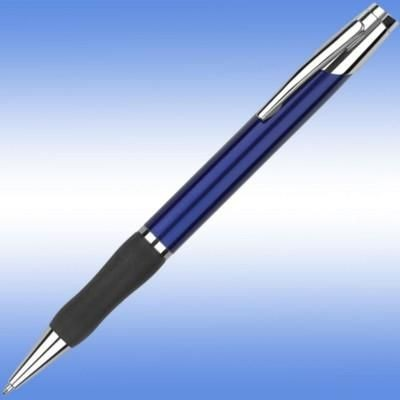 Picture of SONATA BALL PEN in Blue with Black Grip & Silver Trim