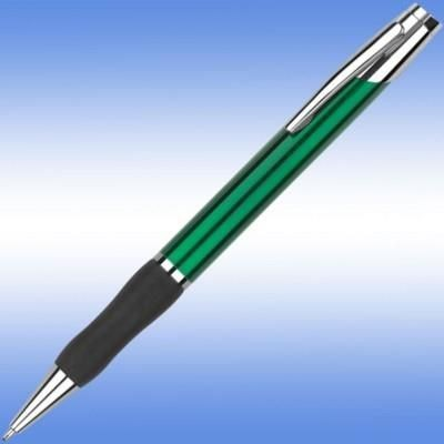 Picture of SONATA BALL PEN in Green with Black Grip & Silver Trim