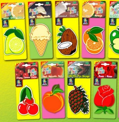 Picture of FRESH FRUIT CAR AIR FRESHENER