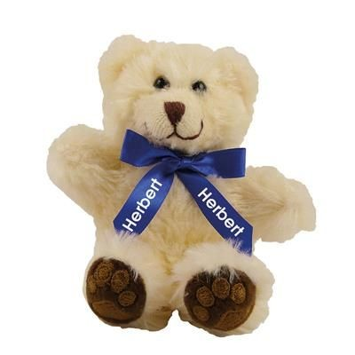 Picture of 5 INCH TALL CHESTER BEAR with Neck Bow