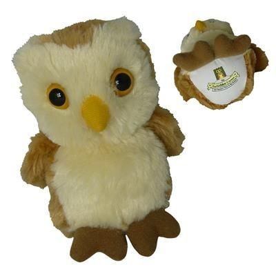 Picture of SOFT TOY OWL with Print on Chest