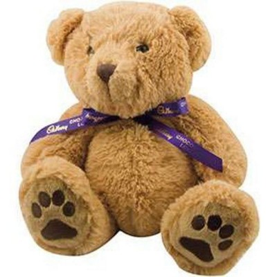 Picture of DEXTER SOFT TOY BEAR with Neck Bow