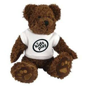 Picture of CHARLIE BEAR with White Tee Shirt