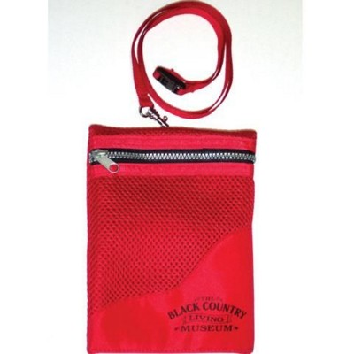 Picture of NECK NYLON PURSE with Lanyard