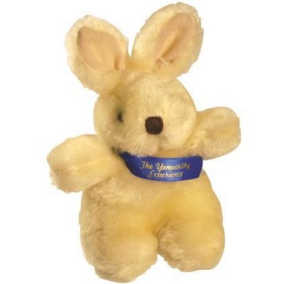 Picture of SOFT PLUSH RABBIT with Printed Sash