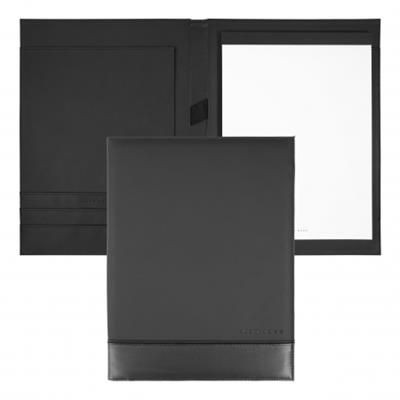 Picture of HUGO BOSS FOLDER A4 EXPLORE BRUSHED GREY