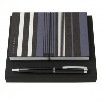Picture of HUGO BOSS SET HUGO BOSS BALL PEN & NOTE PAD A6