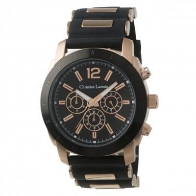 Picture of CHRISTIAN LACROIX CHRONOGRAPH WATCH DOLMEN ROSE GOLD