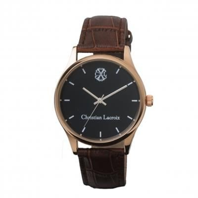 Picture of CHRISTIAN LACROIX WATCH POURSUITE BROWN