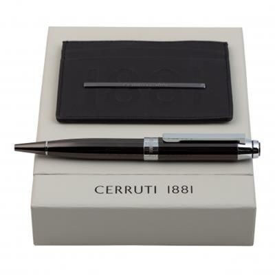 Picture of CERRUTI 1881 SET CERRUTI 1881 BALL PEN & CARD HOLDER