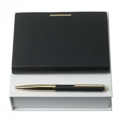 Picture of NINA RICCI SET BARRETTE NOIR BALL PEN & NOTE PAD A6
