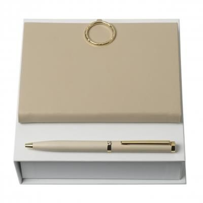 Picture of NINA RICCI SET NINA RICCI NUDE BALL PEN & NOTE PAD A6