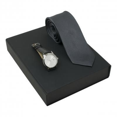 Picture of UNGARO SET UNGARO WATCH & SILK TIE