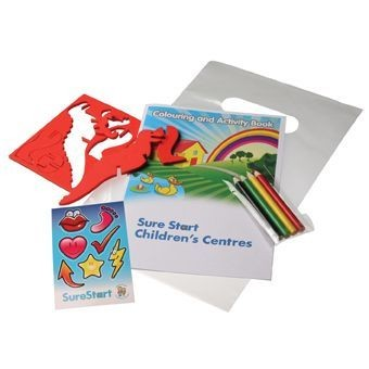 Picture of CHILDRENS COLOURING ACTIVITY PACK