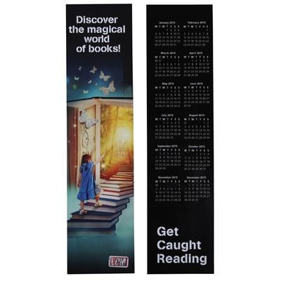 Picture of BOOKMARK with Square Corners Printed Full Colour on One Side