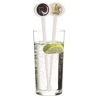 Picture of WHITE PLASTIC DRINK STIRRER
