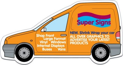 Picture of SMALL VAN SHAPE FRIDGE MAGNET